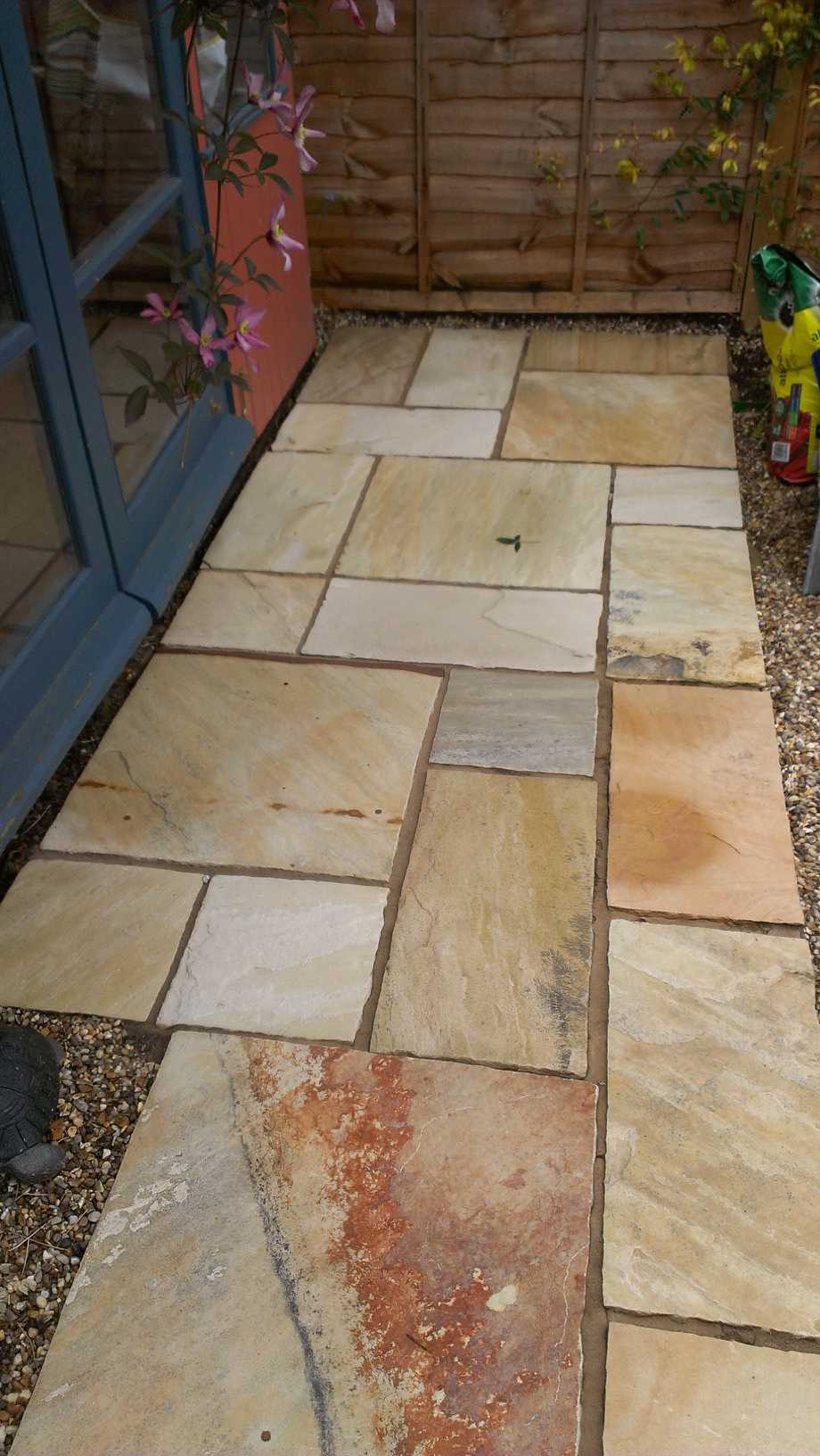 Sandstone Patio Completed Cambridge 2