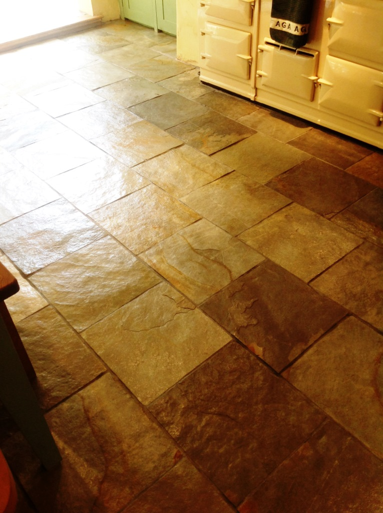Slates Tiles Hemingford Grey After Sealing