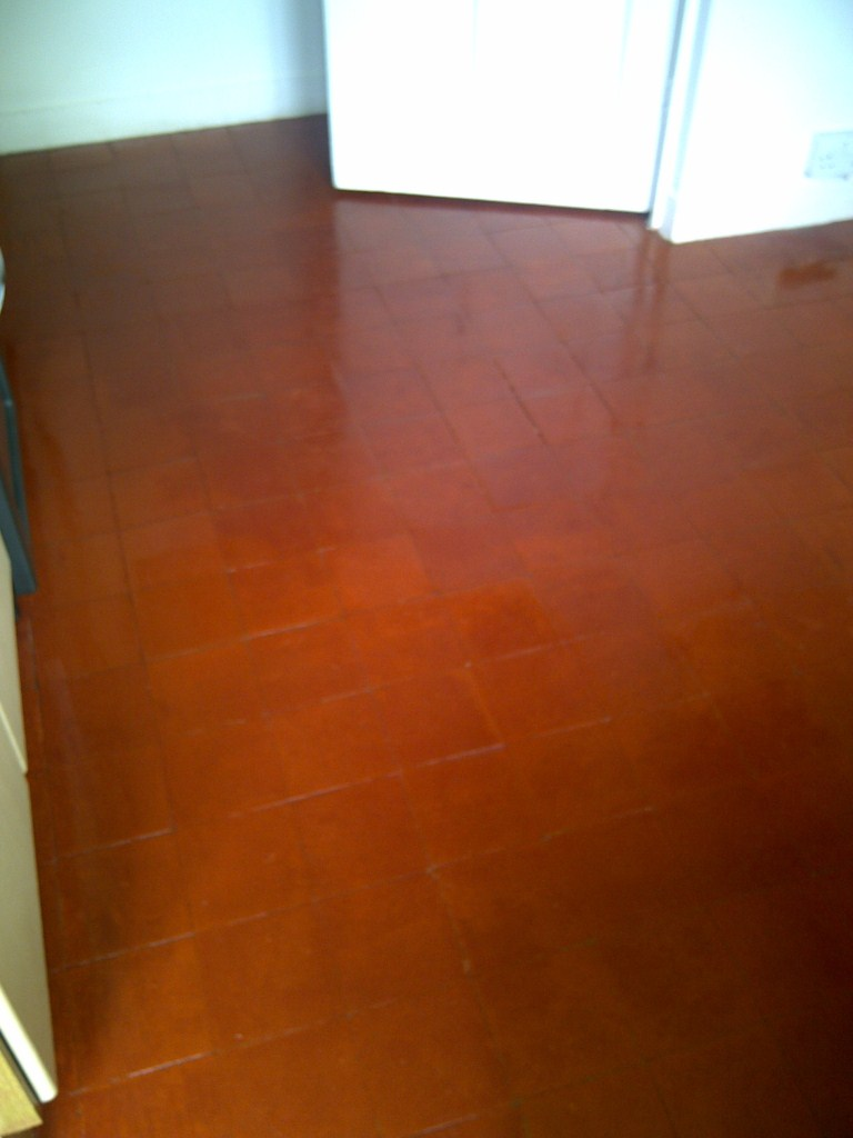 Quarry Tiled Floor Cambridge After
