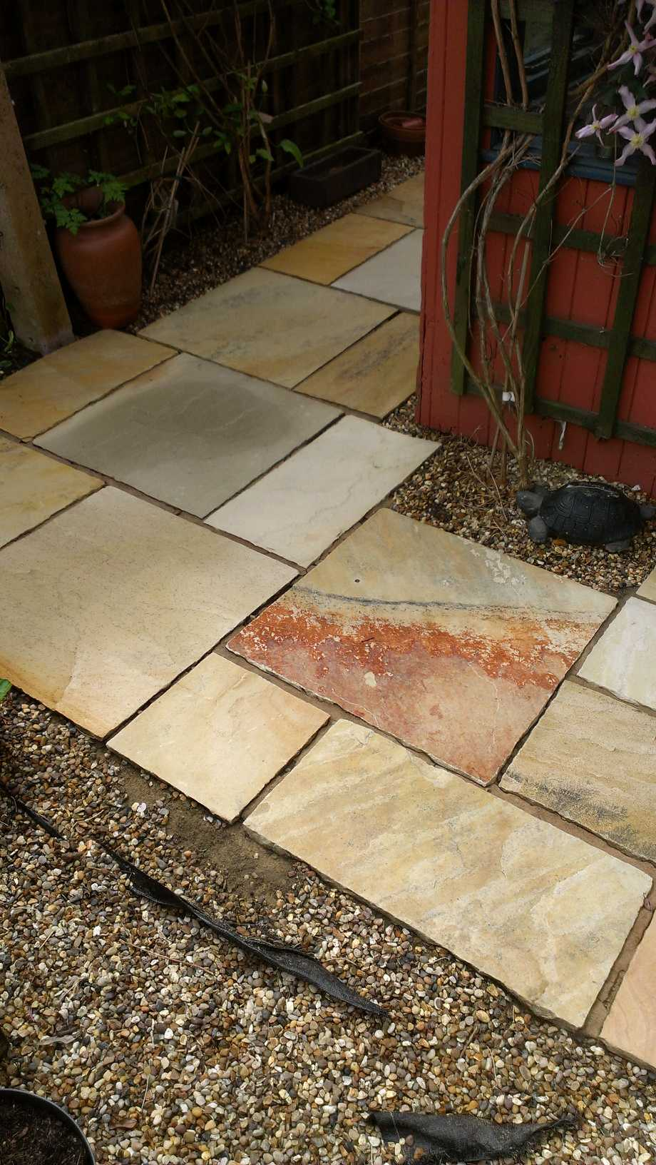 Sandstone Patio Completed Cambridge 1