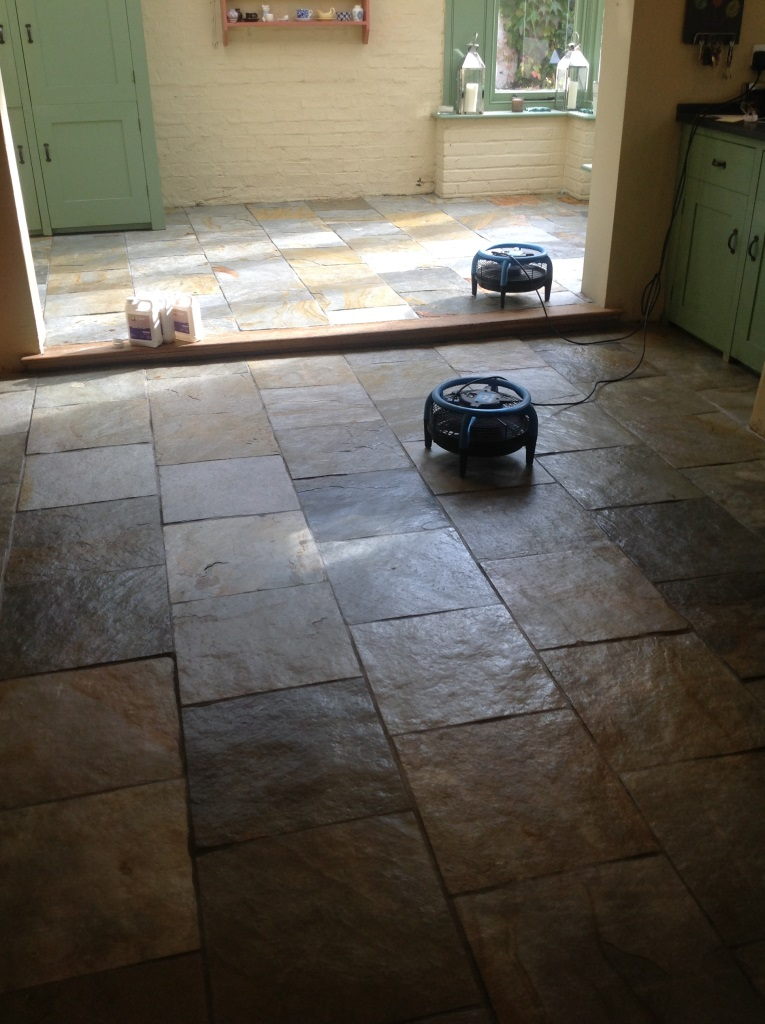 Slates Tiles Hemingford Grey After Cleaning