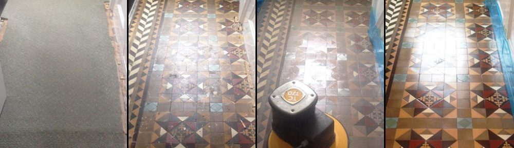 Renovating an Original Edwardian Tiled Hallway to Peak Condition in Chippenham