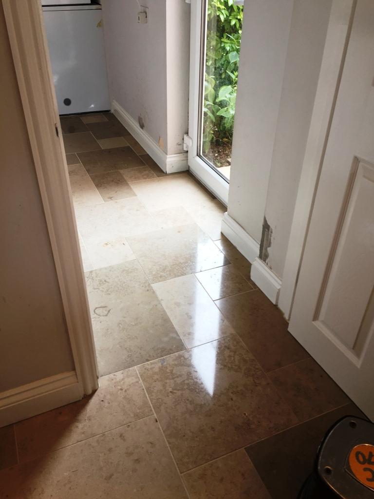 Limestone Tiled Utility After Polishing Boxworth