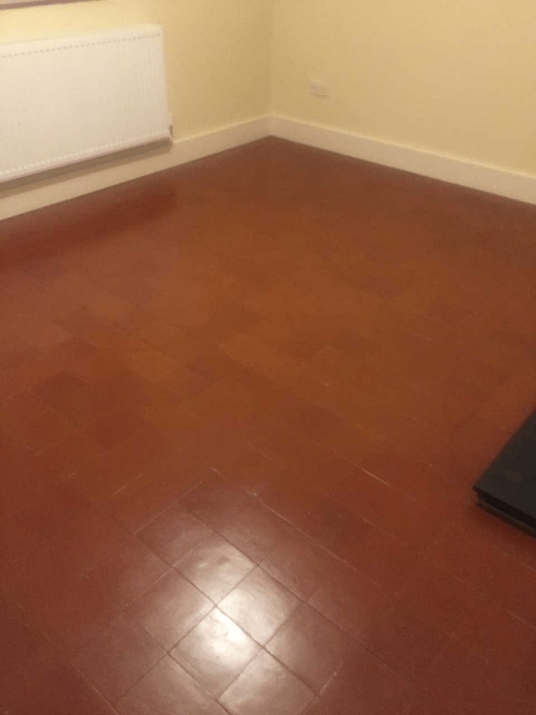 Quarry Tiled Floor Wicken After Cleaning